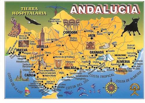 sul espanha mapa Report] Andaluzia (sul de Espanha) e Gibraltar   Jerez, Cádiz  sul espanha mapa