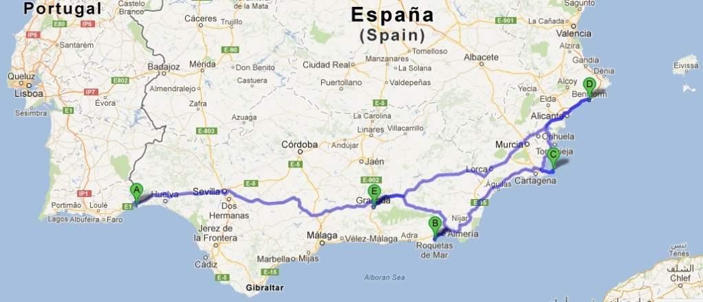 mapa espanha benidorm Report] Benidorm | Portal das Viagens mapa espanha benidorm