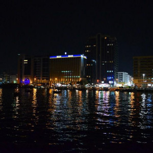 Dubai Creek @ Night