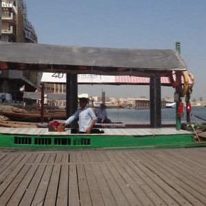 Abra boat @ Dubai Creek