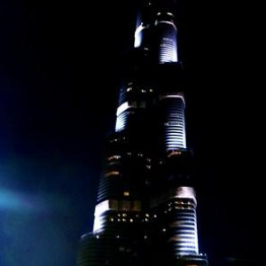 Burj Khalifa @ Night