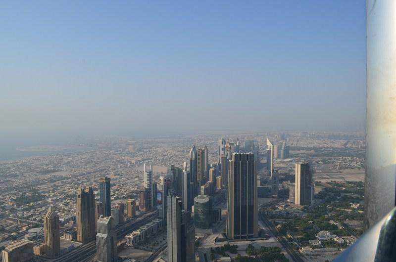 A view from the Top - Burj Khalifa