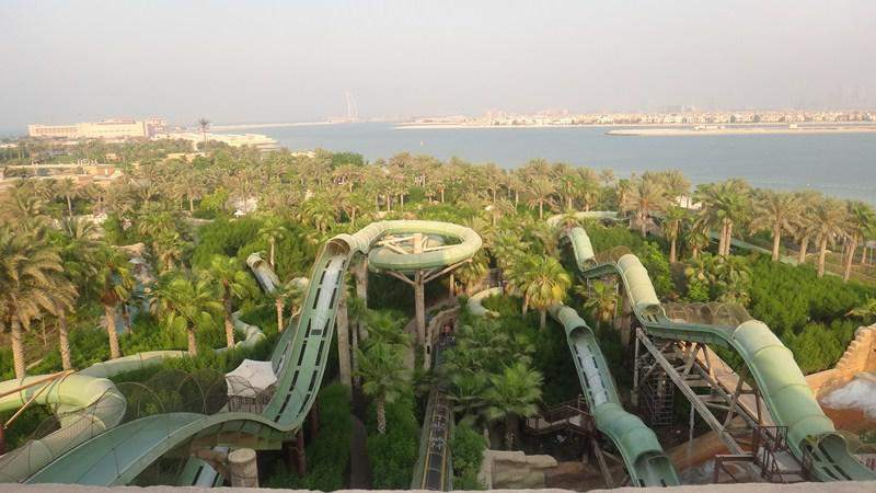 View from Aquaventure Tower
